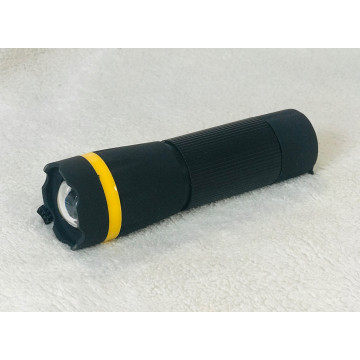 Ліхтарик чорний жовта смужка К-01